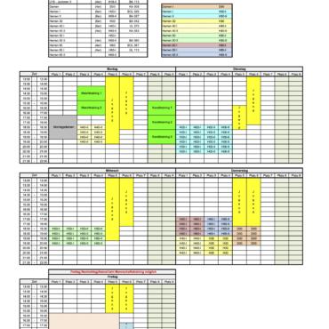 Trainingsplan TC70
