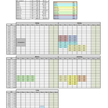 Trainingsplan für Sommerferien 2020
